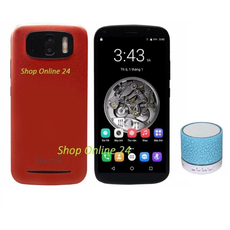 Arbutus Max X3 16Gb Ram 2Gb (Đỏ Sẫm) + Loa Bluetooth - Hàng nhập khẩu