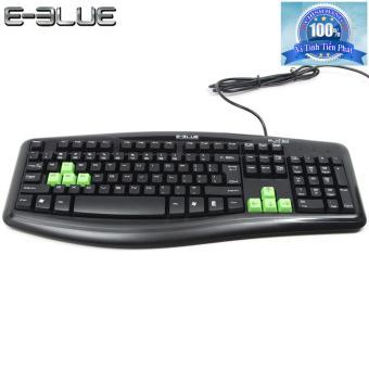 Bàn phím máy tính E-Blue EKM046BK cổng USB