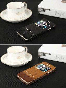 Bao da Baseus Unique cho iPhone 6 plus/6S plus (Nâu) - 5