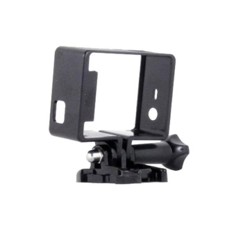 Black Slim Fit Replacement Pc Housing Case Cover For Hdgopro Hero 33+ 4 Camera - intl