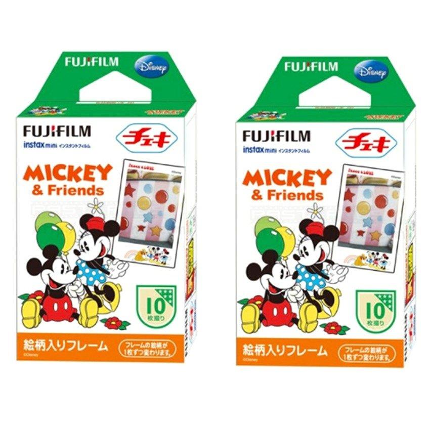 Bộ 02 hộp phim màu Fujifilm Instax Mini Mickey 10 tấm