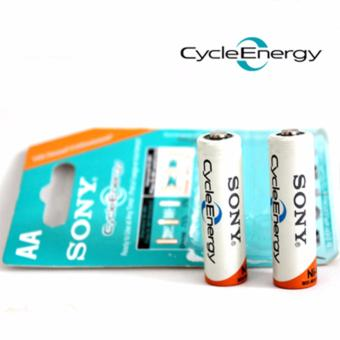 Bộ 02 Pin Sạc Sony Cycle Energy AA
