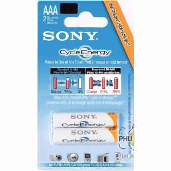Bộ 02 Pin Sạc Sony Cycle Energy AAA