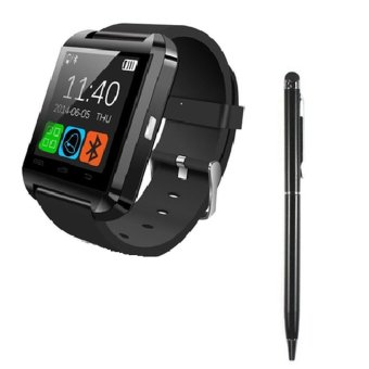 Bộ 1 đồng hồ thông minh Smartwatch U8 Plus U80 (Đen) + 1 Viết cảm ứng