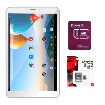 Mua Bộ 1 Máy tính bảng Archos 80c Xenon 16GB 2 Sim (Trắng) + 1 Sim Dcom 3G Viettel + 1 Thẻ nhớ MicroSD 8GB Class 4  ở đâu tốt?