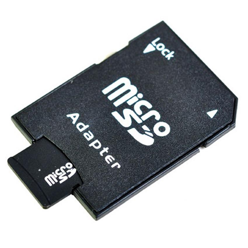Bộ 1 thẻ nhớ MicroSDHC 8GB và 1 Adapter thẻ nhớ (Đen)