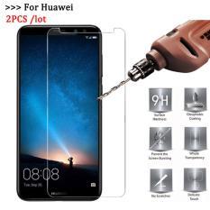 Bộ 2 kính cường lực Huawei Nova 2i (Trắng trong)