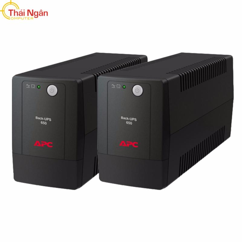 Bảng giá Bộ 2 Sản phẩm Bộ lưu điện APC BX650LI-MS 650VA (Đen) Phong Vũ