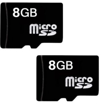 Bộ 2 Thẻ nhớ Micro Memory Card SD 8GB (Đen) shopping