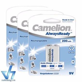 Bộ 3 pin sạc vuông Camelion AlwaysReady 9V - 8087899 , CA442ELAA1TS7CVNAMZ-3079523 , 224_CA442ELAA1TS7CVNAMZ-3079523 , 450000 , Bo-3-pin-sac-vuong-Camelion-AlwaysReady-9V-224_CA442ELAA1TS7CVNAMZ-3079523 , lazada.vn , Bộ 3 pin sạc vuông Camelion AlwaysReady 9V
