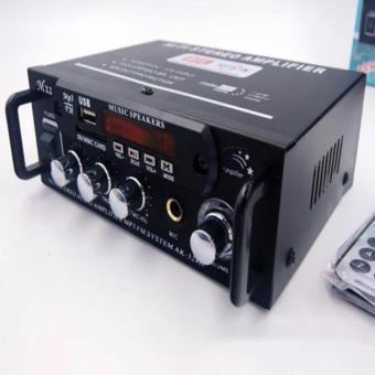 Bộ Âm Ly Khuếch Đại Âm Thanh HiFi 180W+180W 12VDC-220VAC ( Nghe làSướng )