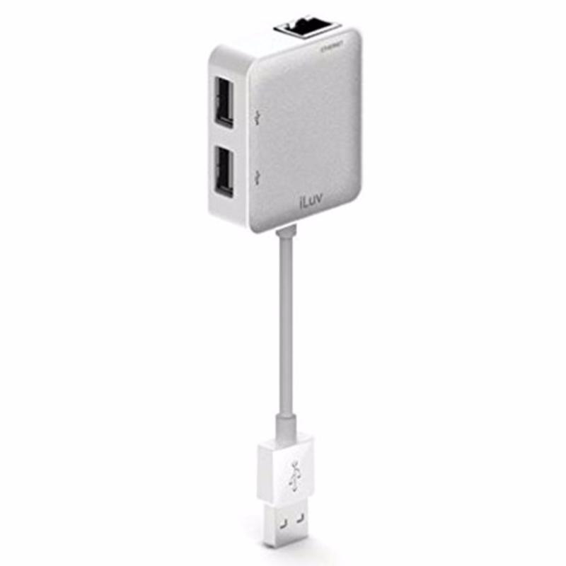 Bảng giá Bộ cáp chia cổng Ethernet Adapter/ 2 Post Cho Laptop -MACBOOK Phong Vũ