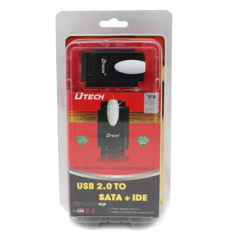 Bảng giá Bộ Cáp chuyển đổi USB 2.0 sang Sata IDE Dtech DT8003A Phong Vũ