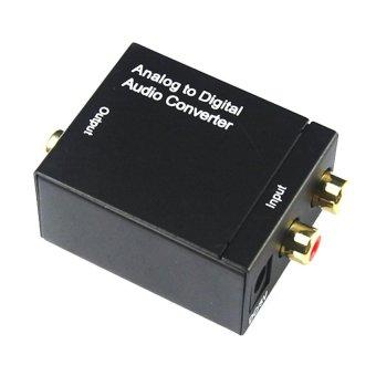 Bộ chuyển đổi âm thanh AV RCA R L AUDIO sang Optical Coaxial (Đen)
