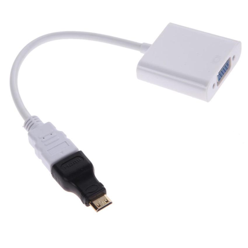 Bộ chuyển đổi Micro HDMI, Mini HDMI, HDMI ra VGA
