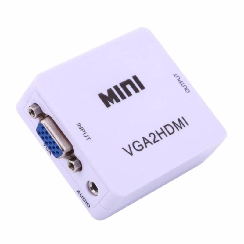 Bảng giá Bộ chuyển đổi tín hiệu từ VGA sang HDMI VGA to HDMI converter mini Phong Vũ