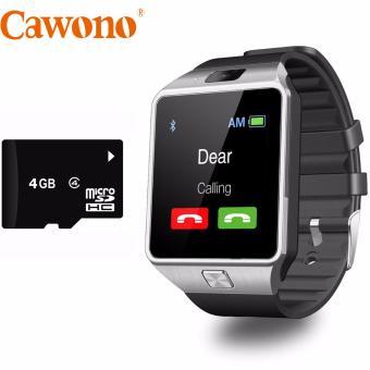 Bộ đồng hồ thông minh Cawono Z09 (Đen bac) và thẻ nhớ 4GB