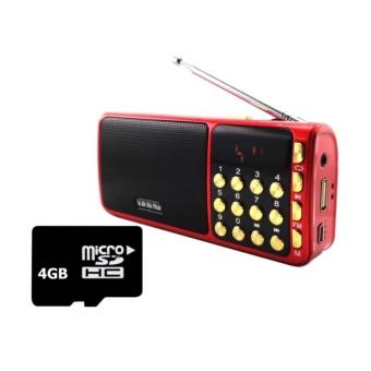 Bộ Loa nghe nhạc USB FM SA-932 (Đỏ) và Thẻ nhớ 4GB - 8392439 , OE680ELAA4D9UJVNAMZ-7991779 , 224_OE680ELAA4D9UJVNAMZ-7991779 , 300000 , Bo-Loa-nghe-nhac-USB-FM-SA-932-Do-va-The-nho-4GB-224_OE680ELAA4D9UJVNAMZ-7991779 , lazada.vn , Bộ Loa nghe nhạc USB FM SA-932 (Đỏ) và Thẻ nhớ 4GB