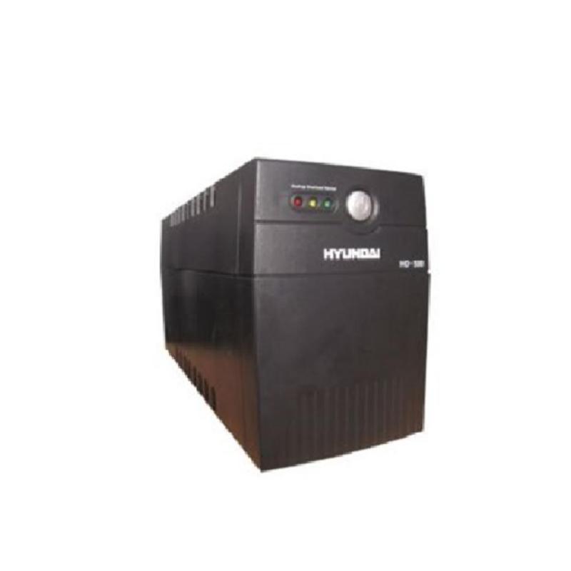 Bảng giá Bộ Lưu Điện UPS Offline HYUNDAI HD 500VA (500VA/300W) (Đen) Phong Vũ