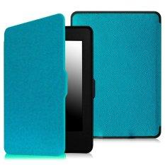 Bộ máy đọc sách Kindle paper AMAZON 2015 (Đen) và Bao da Kindle Paperwhite 2015 (Xanh Da Trời)  Cực Rẻ Tại DETICO