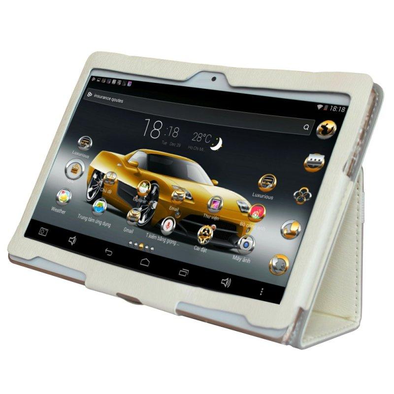 Bộ Máy tính bảng cutePad Tab 4 M9601 4-core 9.6 IPS 16GB (Trắng) + Bao da (Trắng) - Hãng Phân phối chính thức