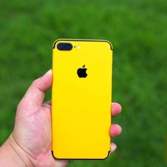 Bộ Miếng dán Skin cao cấp Iphone 6S PLUS vàng - hàng nhập