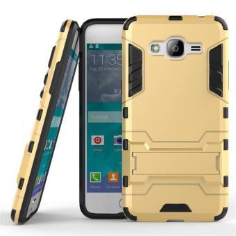 Bộ ốp lưng chống sốc Iron Man cho Samsung Galaxy J2 Prime, kính cường lực