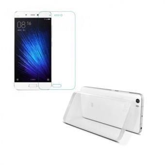 Bộ ốp lưng Silicon cho Xiaomi Mi5 (Trắng) + Kính cường lực 2.5D (trong suốt) - 8668566 , OM770ELAA2DEI3VNAMZ-4067383 , 224_OM770ELAA2DEI3VNAMZ-4067383 , 50000 , Bo-op-lung-Silicon-cho-Xiaomi-Mi5-Trang-Kinh-cuong-luc-2.5D-trong-suot-224_OM770ELAA2DEI3VNAMZ-4067383 , lazada.vn , Bộ ốp lưng Silicon cho Xiaomi Mi5 (Trắng) + Kính cư