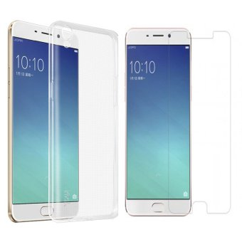 B p lng silicon OPPO F1S ( Trng trong) + Knh cng lc 2.5D
