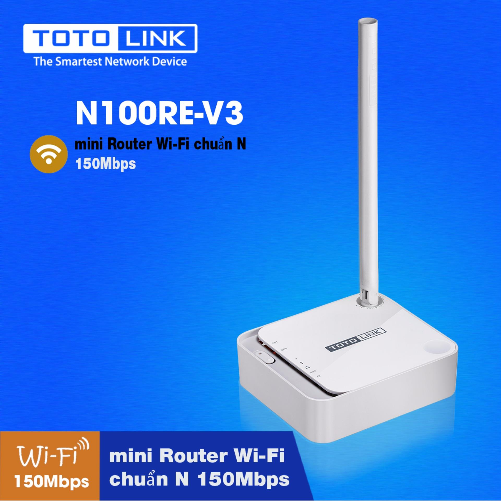 Bng Gi B Pht Wifi Router Totolink N100re V3 Phong V 150mbps Wireless N