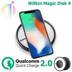 Bộ sạc không dây Nillkin Magic Disk 4 – Sạc nhanh QC2.0 cho máy Android và sạc nhanh 2A cho iPhone 8, iPhone X