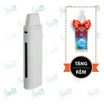 Bộ sản phẩm Eleaf iCare Mini (White) tặng 1 lọ tinh dầu New Liqua 10ml vị Bạc hà