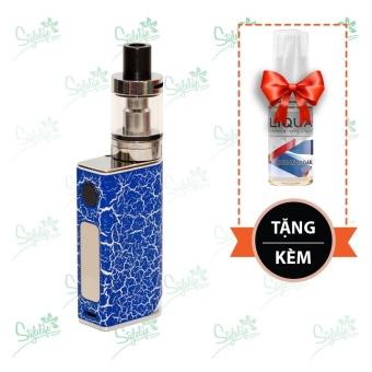 Bộ sản phẩm thuốc lá điện tử (vape) Ovancl P9 (Blue) tặng 1 lọ tinh dầu New Liqua 10ml vị Xì gà Cuba