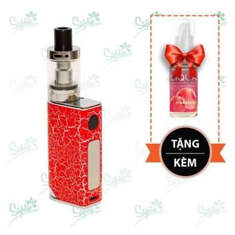 Bộ sản phẩm thuốc lá điện tử (vape) Ovancl P9 (Red) tặng 1 lọ tinh dầu New Liqua 10ml vị Dâu
