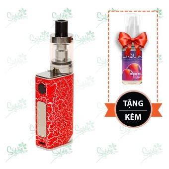 Bộ sản phẩm thuốc lá điện tử (vape) Ovancl P9 (Red) tặng 1 lọ tinh dầu New Liqua 10ml vị Dâu trộn