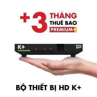 Bộ thiết bị K+ HD và 3 tháng thuê bao Premium+