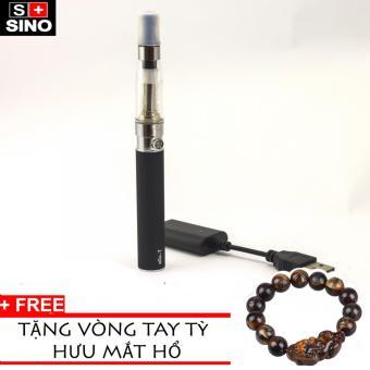 Bộ thuốc lá điện tử eGO-T Black cao cấp+Tặng kèm vòng tay tỳ hưumàu mắt hổ