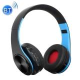BTH-818 Đầu Gấp Stereo tai Nghe Không Dây Bluetooth Tai Nghe, hỗ trợ 3.5 mét Âm Thanh Đầu Vào và Đầu tay Gọi và và Thẻ TF và Chức Năng FM cho iPhone, iPad iPod, Samsung, HTC Sony Huawei, xiaomi và các Thiết Bị Âm Thanh khác (Đen + Xanh Dương)-quốc tế