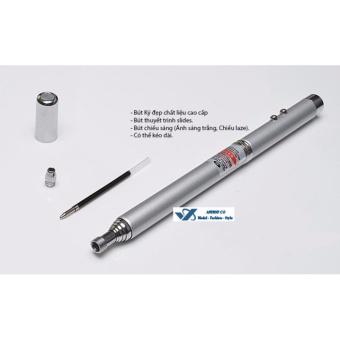 Bút trợ giảng đa chức năng 4 in 1 + 1 ngòi bút.