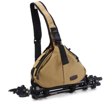... Caden K1 Triangle Crossbody Shoulder Bag for Canon Nikon DSLR Camera - intl - 3 ...