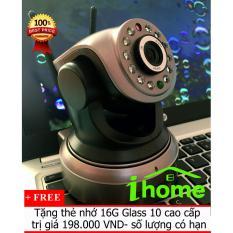Camera chống trộm 360 độ Siepem 6203Plus không dây đàm thoại 2 chiều tặng kèm thẻ nhớ 16G