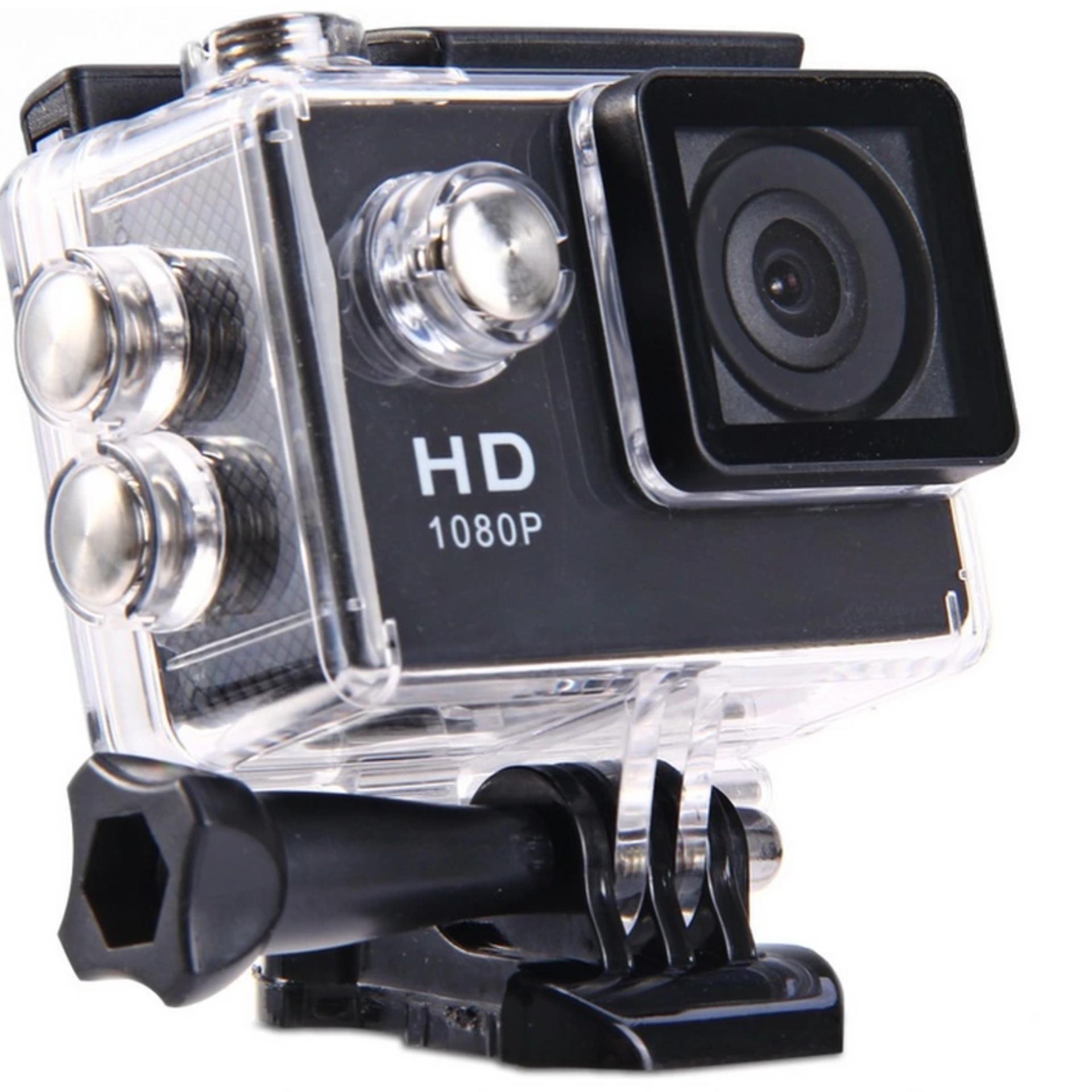 CAMERA HÀNH TRÌNH HD1080 SPORT CAM A8 -A9- LCD 1.5' (đen)