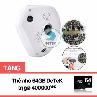 Camera IP VR CAM 3D quay mọi góc nhìn 360 độ (Trắng) tặng Thẻ nhớ 64GB - 8113557 , DE011ELAA3DVRLVNAMZ-5953455 , 224_DE011ELAA3DVRLVNAMZ-5953455 , 1000000 , Camera-IP-VR-CAM-3D-quay-moi-goc-nhin-360-do-Trang-tang-The-nho-64GB-224_DE011ELAA3DVRLVNAMZ-5953455 , lazada.vn , Camera IP VR CAM 3D quay mọi góc nhìn 360 độ (Trắng