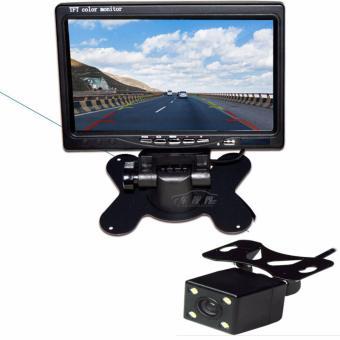 """camera lùi hồng ngoại cho xe ô tô có màn hình hiển thị 7"""" hàng cao cấp"""