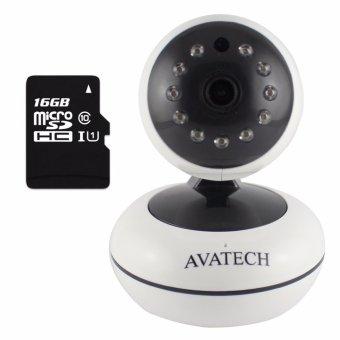Camera quan sát IP Wi-Fi AVATech AVT-202 1.0 (Trắng) kèm thẻ nhớ 16GB - 8046975 , AV874ELAA386EUVNAMZ-5642031 , 224_AV874ELAA386EUVNAMZ-5642031 , 899000 , Camera-quan-sat-IP-Wi-Fi-AVATech-AVT-202-1.0-Trang-kem-the-nho-16GB-224_AV874ELAA386EUVNAMZ-5642031 , lazada.vn , Camera quan sát IP Wi-Fi AVATech AVT-202 1.0 (Trắng)