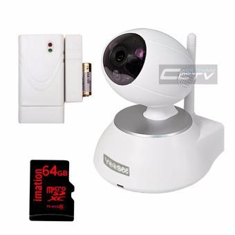 Camera Yoosee YS1600 + thẻ nhớ 64GB + cảm biến tách cửa