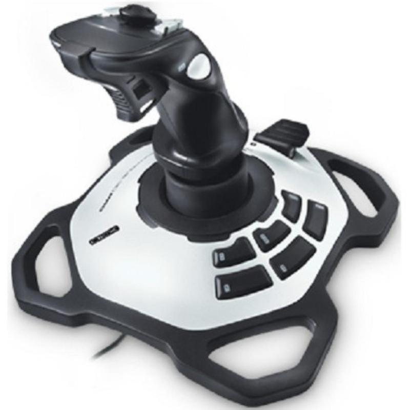 Bảng giá Cần lái Game Logitech JOYSTICK EXTREME ATTACK 3D (Đen phối xám bạc) Phong Vũ