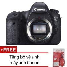 Nơi Bán Canon EOS 6D 20MP Body (Đen) – Hàng nhập khẩu + Tặng bộ vệ sinh máy ảnh Canon  Khanhlong Camera (Tp.HCM)