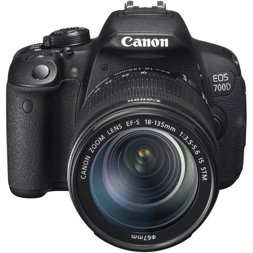 Canon EOS 700D 18MP với Lens kit 18-135mm IS STM (Đen)