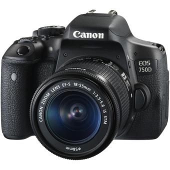 Canon EOS 750D 24.2MP và lens Kit 18-55mm IS STM (Đen)